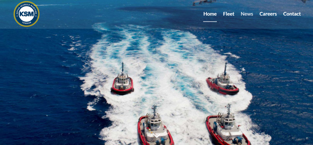 Webdesign KSM Towage