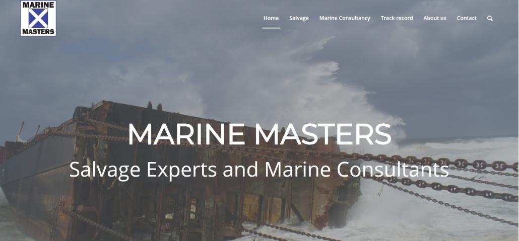Webdesign Marine Masters